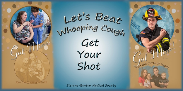 Community Immunization Campaign banner for Summer by George and Whitney Expo